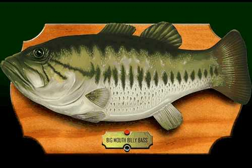 Billy bass is missing for Billy bass fish