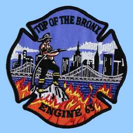 Bronx firefighter crest